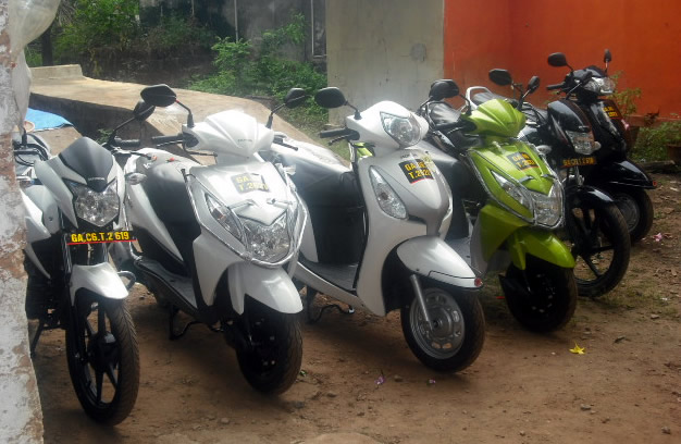 latest motorbike fleet additions